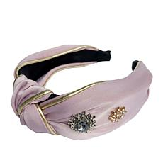 Locks & Mane Hair Accessories Jeweled Knotted Headband