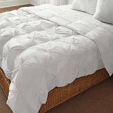 LoftWorks Pin-Tuck Down Alternative Comforter - Full/Queen