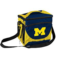 Logo Chair 24-Can Cooler - University of Michigan