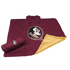 Logo Chair All Weather Blanket - Florida State Un.