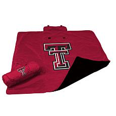Logo Chair All-Weather Blanket - Texas Tech' University