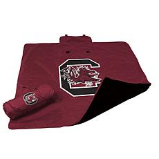 Logo Chair All-Weather Blanket - Un. of South Carolina