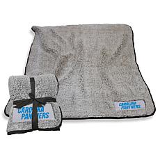Logo Chair Officially Licensed NFL Frosty Fleece - Carolina Panthers