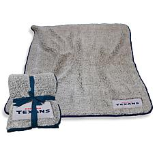 Logo Chair Officially Licensed NFL Frosty Fleece - Houston Texans