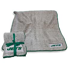 Logo Chair Officially Licensed NFL Frosty Fleece - New York Jets