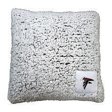 Logo Chair Officially Licensed NFL Frosty Throw Pillow - Falcons