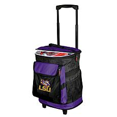 Logo Chair Rolling Cooler - Louisiana State University