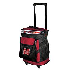 Logo Chair Rolling Cooler - University of Nebraska