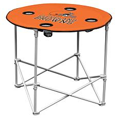 Logo Chair Round Table - Cleveland Browns