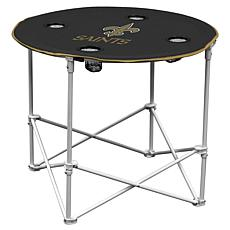 Logo Chair Round Table - New Orleans Saints