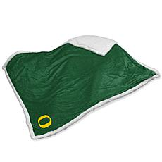 Logo Chair Sherpa Throw - University of Oregon
