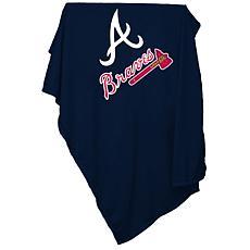 Logo Chair Sweatshirt Blanket - Atlanta Braves