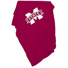 Logo Chair Sweatshirt Blanket - Mississippi State Un.
