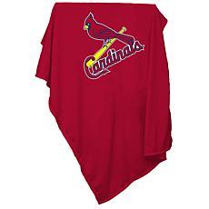 Logo Chair Sweatshirt Blanket - St. Louis Cardinals
