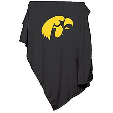Logo Chair Sweatshirt Blanket - University of Iowa
