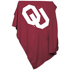 Logo Chair Sweatshirt Blanket - University of Oklahoma