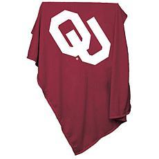 Logo Chair Sweatshirt Blanket - University of Oklahoma