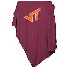 Logo Chair Sweatshirt Blanket - Virginia Tech Un.