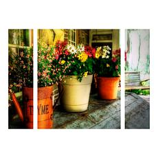 "Lois Bryan ""The Porch Swing"" Multi-Panel Art Set - 30"""