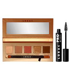 LORAC Brazen Unzipped Palette with PRO Plus Fiber Mascara