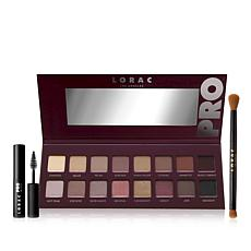 LORAC PRO Palette 4 Set with Brush & Travel Mascara