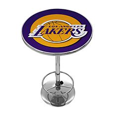 Los Angeles Lakers NBA Chrome Pub Table