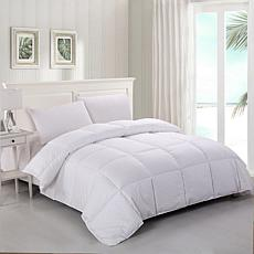 Lotus Home Stayclean Bacteria Reducing Down Alternative Comforter Twin