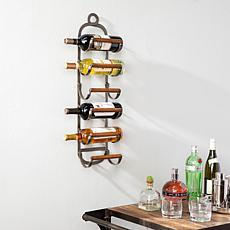 Louiston Industrial Style Wall Mount Wine Rack
