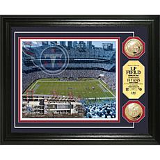 LP Field 24K Coin Photo Mint by The Highland Mint