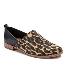 Lucca Lane Tabby Leather and Suede 2pc Style Flat