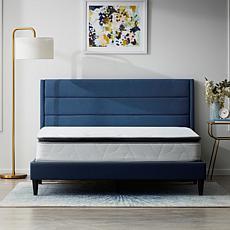 """Lucid 10"""" Refresh Luxe Pillowtop Hybrid King Mattress"""