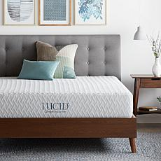 "LUCID Comfort Collection 10"" Plush Memory Foam Mattress - King"