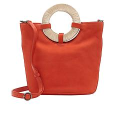 Lucky Brand Ason Leather Bucket Crossbody
