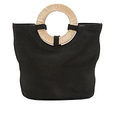 Lucky Brand Ason Leather Bucket Crossbody