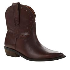 Lucky Brand Chantelx Western-Inspired Leather Bootie