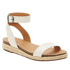 Lucky Brand Garston Leather Espadrille Flat Sandal