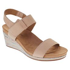 c7c9adb57aa7 Lucky Brand Kollia Leather Platform Wedge Sandal ...