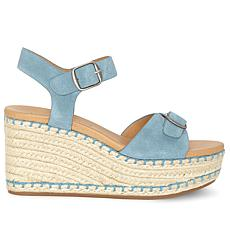 Lucky Brand Naveah 3 Suede Platform Espadrille