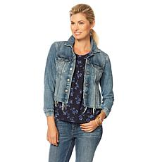 Lucky Brand Tomboy Trucker Jacket in Alamere Falls - Missy