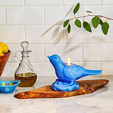 Luminara Moving Flame Bird Candle