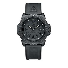 Luminox Navy SEAL Colormark Black Signature Strap Watch
