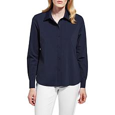 LYSSE Connie Slim Button Down Top