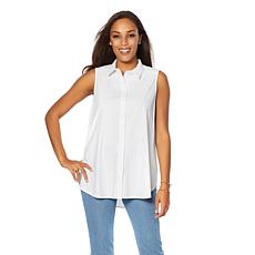 LYSSE Microfiber Button Down - Plus
