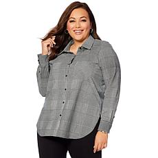 LYSSE Shiffer Button Down Top - Missy