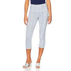 LYSSE Smoothing Waist Textured Capri Legging  - Plus