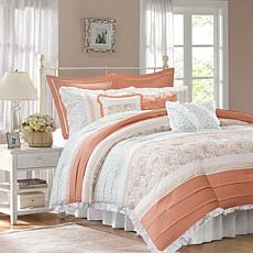 Madison Park Dawn 9-Piece Cotton Percale Comforter Set - King