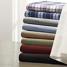 Madison Park Essentials Micro Splendor Sheet Set - Red - Twin XL