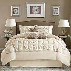Madison Park Ivory Laurel Comforter Set - Queen