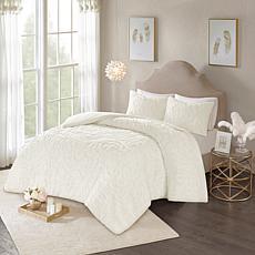 Madison Park Laetitia 2-pc Cotton Chenille Duvet Cover Set - T/T XL