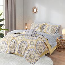 Madison Park Merritt 9pc Bedding Set - Full/Taupe